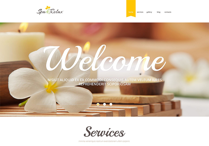 Spa Accessories Responsive WordPress Theme
